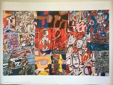 JEAN DUBUFFET original 1980 poster for his retrospective in Berlin