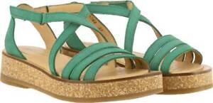El Naturalista Women's Tulbend Sandals, Mint, 39 M EU