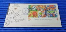 1992 Singapore First Day Cover XXVth Olympiad Barcelona '92 Miniature Sheet
