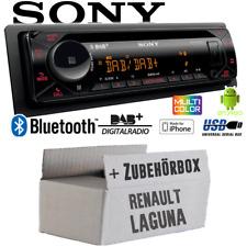 Autoradio Sony Bluetooth   DAB+   CD/MP3/USB Einbauset für Renault Laguna 1 & 2