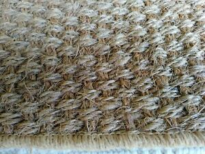 Crucial Trading Coir Panama Natural Rug. Various Sizes Available