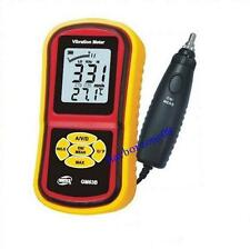 Digital Vibration Meter GM63B Acceleration 0.1~199.9m/s Velocity 0.1~1999.9m/s