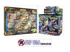 Mega Powers Collection + Sun & Moon Guardians Rising Booster Box POKEMON TCG