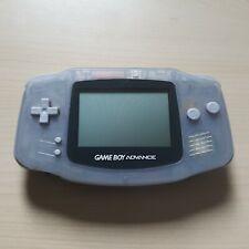 Nintendo GameBoy Advance Konsole Transparent Lila Clear Blue Handheld GBA