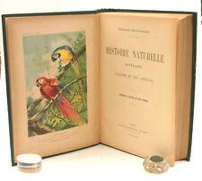 Histoire Naturelle Populaire CHARLES BRONGNIART Livre ancien 870 Figures Planche