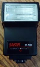 Sakar 29 MD Computer bounce, Shoe mount Flash runs on 4AA Batteries not included