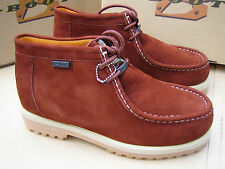 New Buffalino Men Leather Boots Size 10 Color Cinnamon  high Top