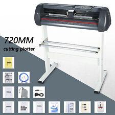 Vinyl Cutter Plotter Cutting 28 Sign Sticker Making Print 3 Blades Amp Lcd Screen