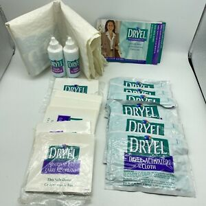 Genuine Original DRYEL Stain Remover 2 Bottle/Dryer Bag/Pads/ 6 Activated Cloths