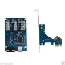 PCI-E 1X EXPANSION KIT 1 TO 3 PORTS SWITCH MULTIPLIER HUB RISER CARD USB 3.0