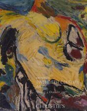 Christies December 2007 Twentieth Century Art