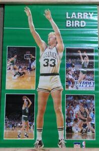 RARE LARRY BIRD CELTICS 1988 VINTAGE ORIGINAL NBA STARLINE POSTER SEALED