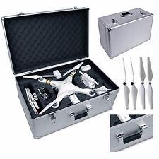DJI Phantom 1, 2, & 3 Drones Heavy Duty Aluminium Case with WHITE PROPELLERS!!