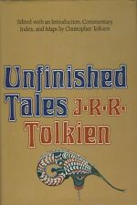 Unfinished Tales of Numenor and Middle-Earth J.R.R. Tolkien 1980 HC 1st ed VG