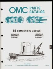 1988 Omc / Johnson / Evinrude 65 Commercial Parts Manual