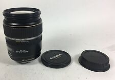 (NO RETURN) Canon Zoom AF EF-S 17-85mm f4-5.6 IS USM lens for parts AS IS