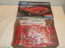 Monogram 2222 Ford Mustang Convertible Plastic Kit 1/24 New & Sealed