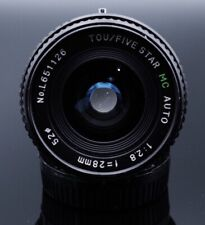 Tou/Five Star 28mm 2.8 Wide Canon Fd Mount