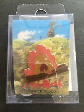 Studio Ghibli Howl's Moving Castle Pin Badge Calcifer H-09 Pinbadge JAPAN