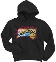 "BLACK Philadelphia 76ers ""Trust the Process Logo"" Joel Embiid  Hooded SWEATSHIRT"