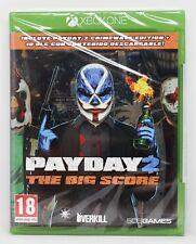 PAYDAY 2 THE BIG SCORE - XBOX ONE XBOXONE - PAL ESPAÑA - NUEVO - PAY DAY