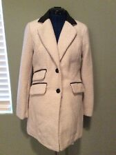 A. Byer Dressy Jacket White W/ Black Leather Details *M* NWT!!!