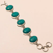 Turquoise Silver Overlay Bracelet Jewelry E2598