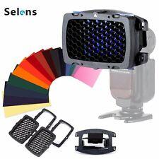 Selens SE-Kx Flash Honeycomb Grib Spot Filter set for Canon Speedlight