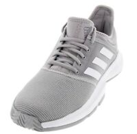 Women Adidas GameCourt Tennis Shoes Light Granite/White CG6366