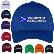 USPS Postal Post Office Hat - Baseball Caps - Embroidered