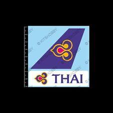 Thai Airways Logo Sticker (Size 9 cm x 9 cm)