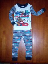 "Toddler ""CARS"" Track Burning Action  2-Piece PJ Set  Size 2  NWT!!"