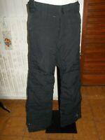 Pantalon technique ski snow snowboard noir PROTEST L 42FR brodé 19NA2