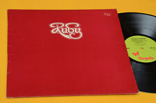 RUBY LP RED CRYSTAL FANTASIES 1°ST ORIG UK 1974 TOP PROG