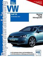 VW GOLF 7 Reparaturanleitung Reparaturbuch Reparatur-Handbuch Wartung Buch