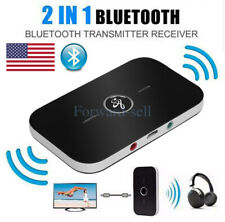 2in1 Bluetooth Transmitter & Receiver Wireless A2DP Home TV Stereo Audio Adapter