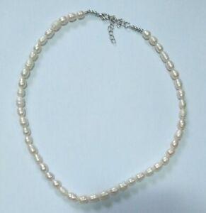Collana Perle Di Fiume 51 Cm