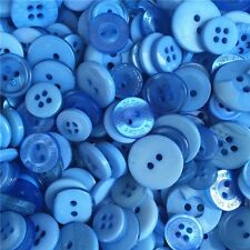 Jesse James Buttons ~ Dress It Up  1,000+ LIGHT BLUE ROUND SEWING BUTTONS CRAFTS