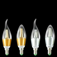 6 x E14 5W DIMMABLE LED SMD Bulbs Chandelier Candelabra Candle Light Bulb