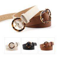 Fashion Women Rivet Belts Leather Metal Pin Buckle Waist Belt VintageWaistbaPLUS