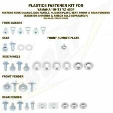 Bolt Hardware Plastics Bolt Kit - Yamaha YZF 450 10-13 FENDER PLATE & FORKS ONLY