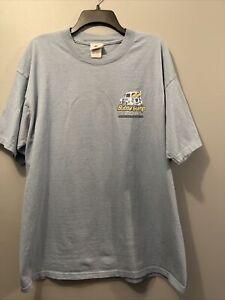 2003 Bubba Gump Shrimp Company Men's T Shirt XL-Steel Gray-San Francisco EUC!
