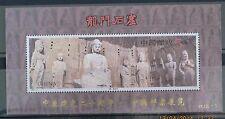 CHINA 1993-13 OVERPRINT PJZ-1 Longmen Grottoes stamps S/S Heritage
