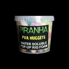Piranha Pva Nuggets 1 litre baignoire coloré water soluble pop up gain l'avantage