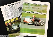 Old FLORIAN CAMATHIAS MOTORCYCLE Racing Article / Photo's / Pictures