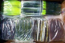 "50 SENKO ASSORTMENT 5.5"" SENKOS Bass Fishing Lures, Worms Pro Soft Stickbaits"