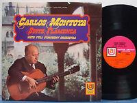 "CARLOS MONTOYA ""Suite Flamenca"" MEGA RARE NM 1968 1A/1A UNITED ARTISTS STEREO LP"