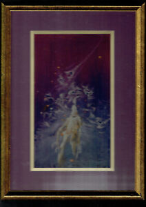 Space Ghosts by Zak Pasco Framed Original Painting