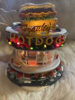RARE 2006 Retired Dept 56: Franky's Hot Dogs - Snow Village # 56.55608