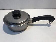 "6"" Stainless steel Saladmaster saucepan with vapo lid"